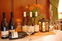 Kleine Weinauswahl im Gasthaus Hirschen in Schlatt